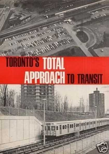 """""""Toronto's Total Approach To Transit"""" Article (1968)"""