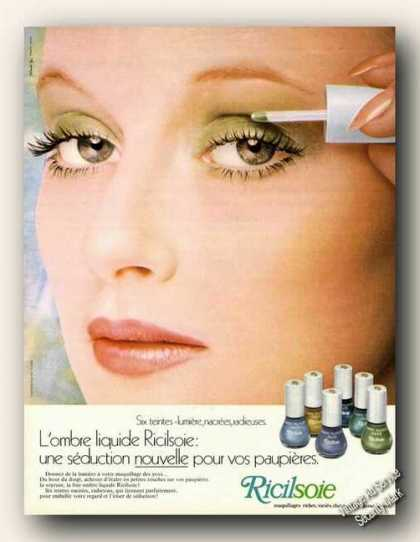 Ricilsoie Eye Makeup French Language Beauty (1972)