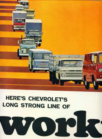 Chevrolet Trucks – Power – 2 Page Not Attached (1965)