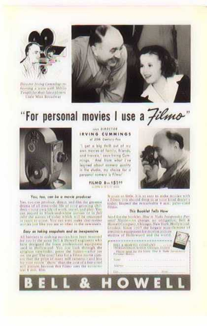 Bell & Howell Camera – Shirley Temple / Irving Cummings (1938)