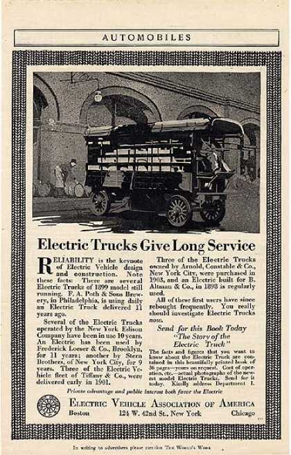 Electric Vehicle Association of America (1914)