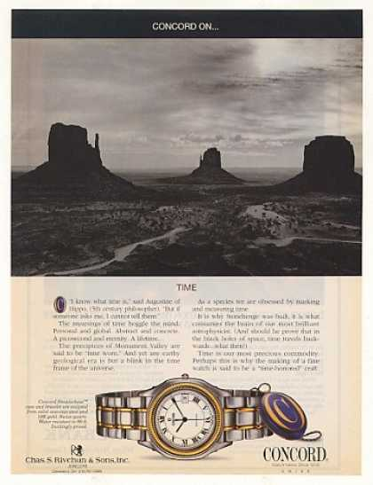 '95 Concord Steeplechase Watch Monument Valley Photo (1995)