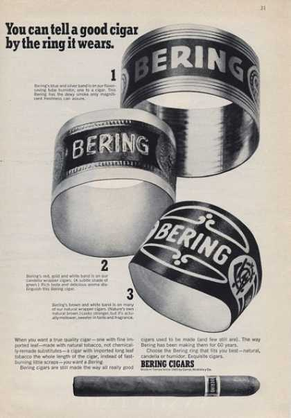 Bering You Can Tell a Good Cigar ... (1965)
