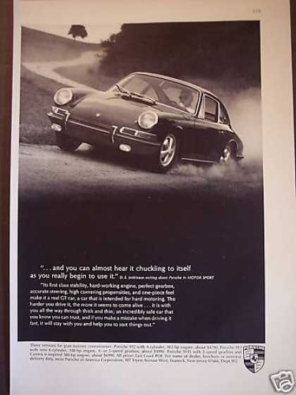 Porsche Gt On Country Road Photo Car (1967)