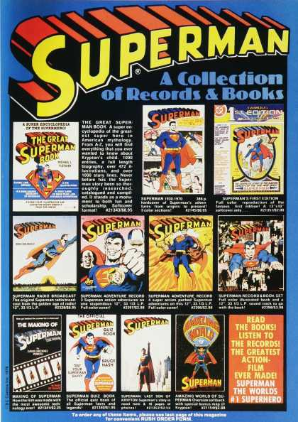 Superman Records and Books