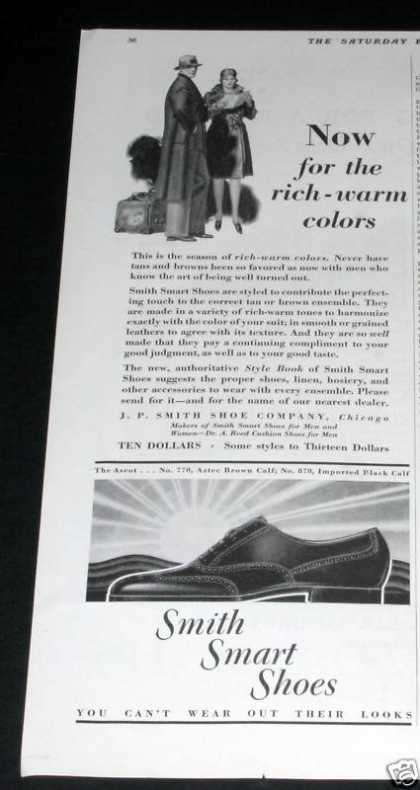 Old , Smith Smart Shoes (1929)