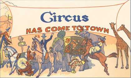 Circus Has Come to Town, Animals