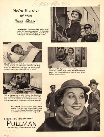 Pullman Company – You're the star of this Road Show (1953)