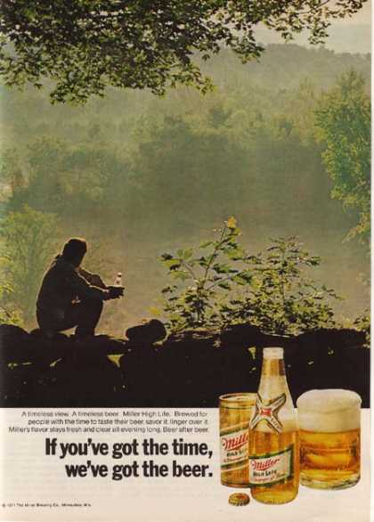 """""""If you've got the time, We've got the beer"""" (1971)"""