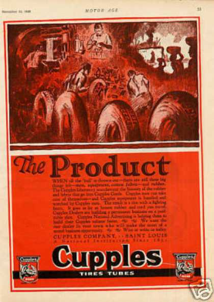 Cupples Tire Tubes (1925)