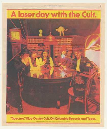 '77 Blue Oyster Cult Spectres Columbia Records (1977)