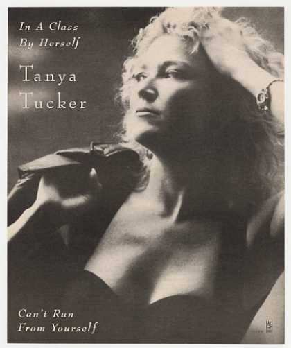 '92 Tanya Tucker Can't Run From Yourself Photo Promo (1992)