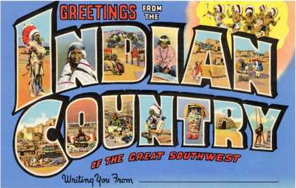 Greetings from Indian Country