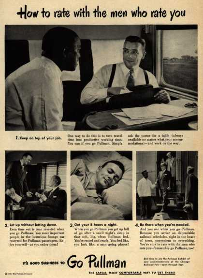 Pullman Company – How to rate with the men who rate you (1948)