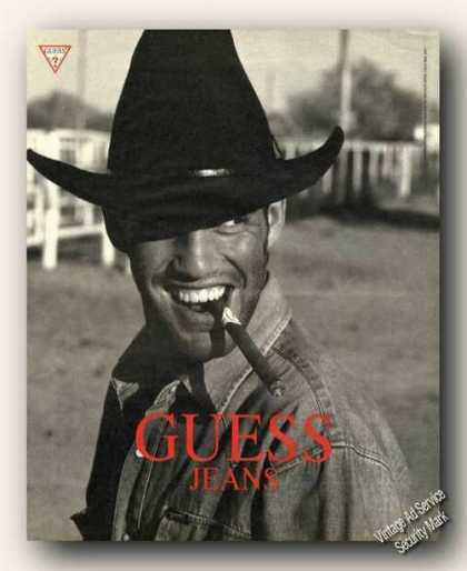 Guess Jeans Collectible Fashion Advertising (1991)