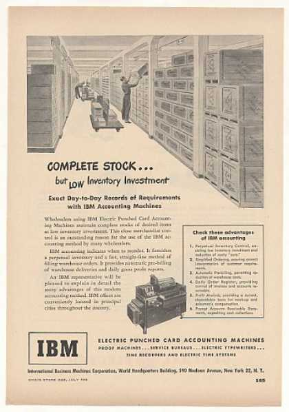 IBM Punched Card Accounting Machine (1948)