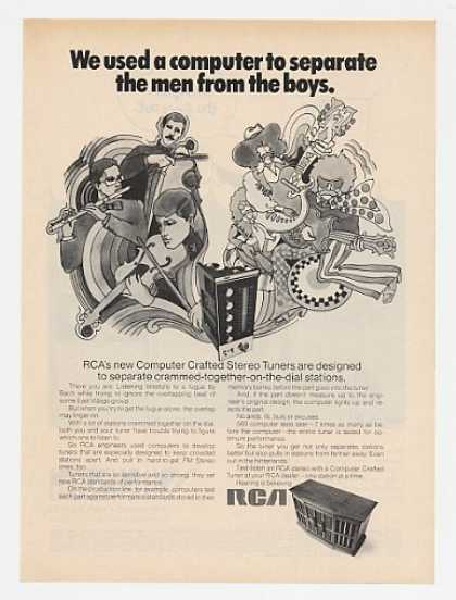 RCA Computer Crafted Stereo Separate Men Boys (1969)