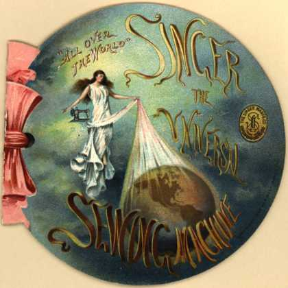 Singer Manufacturing Company's Singer Sewing Machines – Singer: The Universal Sewing Machine (1901)
