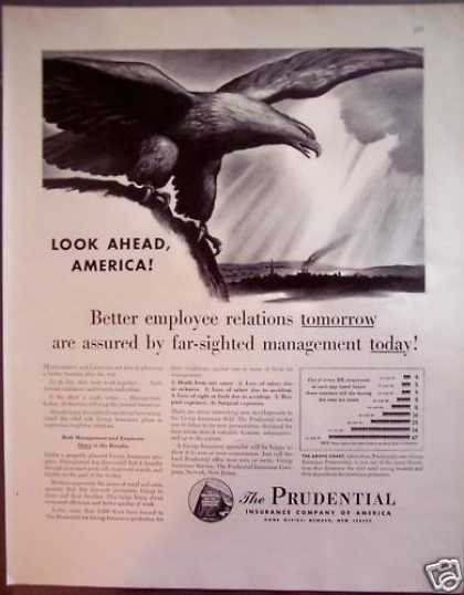 Prudential Insurance Co of America Bald Eagle (1942)