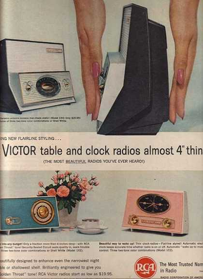 RCA Victor's Table and Clock Radios (1960)