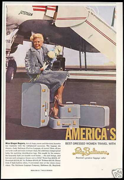 Ginger Rogers Photo Lady Baltimore Luggage (1959)