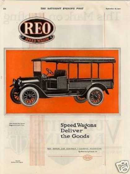 Reo Speed Wagon Truck Color (1920)