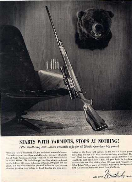 Weatherby (1962)