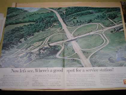 Shell Gasoline Where's a good spot for a service station (1968)