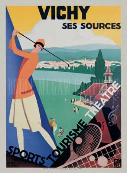 Vichy/Ses Sources by Roger Broders