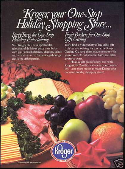 Kroger One Stop Holiday Grocery Store (1980)