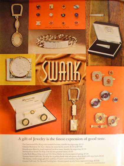 Swank jewelry & GM Safety comes first (1966)