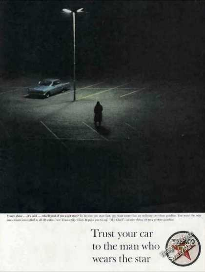 Texaco Trust Your Car To Man Who Wears the Star (1963)