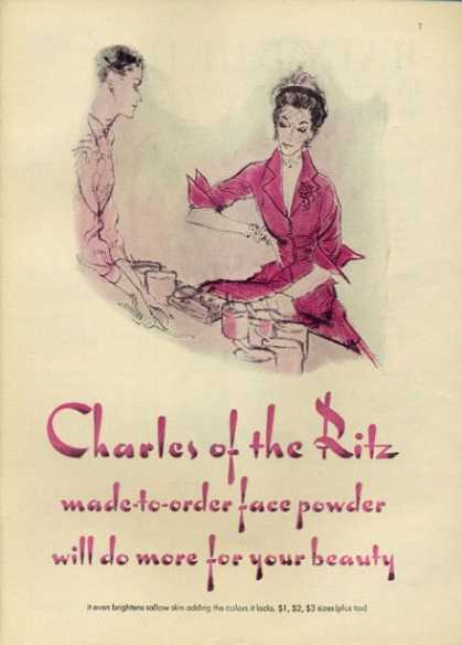 Charles of the Ritz Face Powder Beauty (1952)