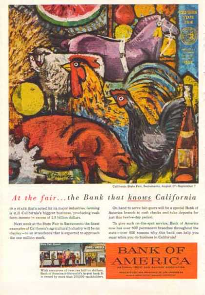 Bank of America – California State Fair Branch – Sold (1958)