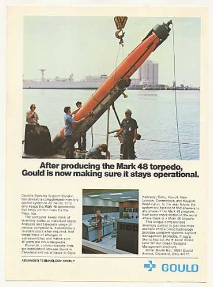 Gould Mark 48 Torpedo Computer Inventory System (1973)