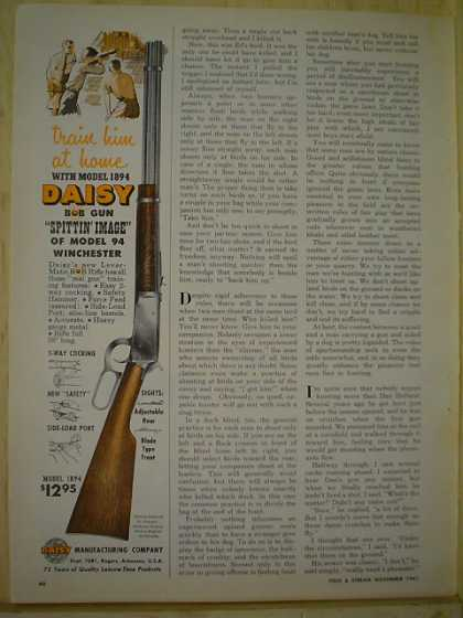 Daisy 1894 Rifle Like Winchester 94 AND 62 Corvair (1961)