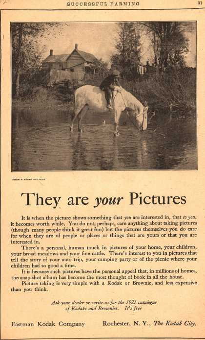 Kodak – They are your Pictures (1921)