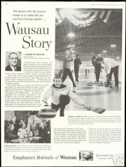 Employers Mutuals of Wausau Womens Ice Curling (1959)