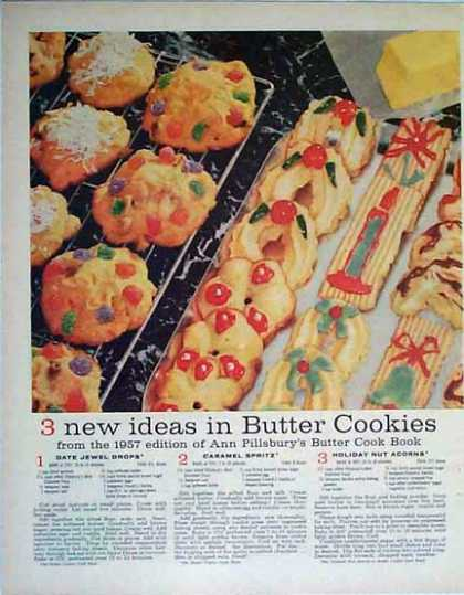 Cookie Recipes – Holiday Magazine Article (1957)