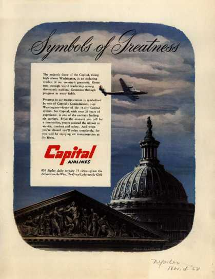 Capital Airline's Capital Constellations – Symbols of Greatness (1950)