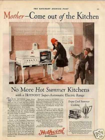 Hotpoint Electric Range Color (1927)