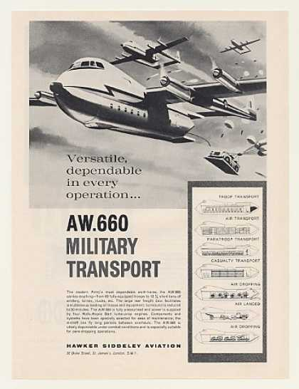 Hawker Siddeley AW 660 Military Transport (1961)