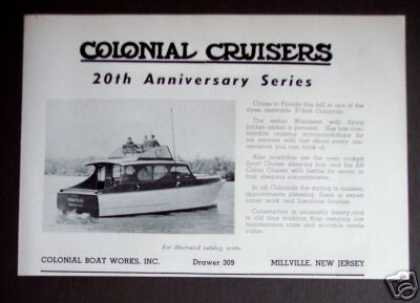 Colonial Cruisers 37' Yacht Boat (1950)