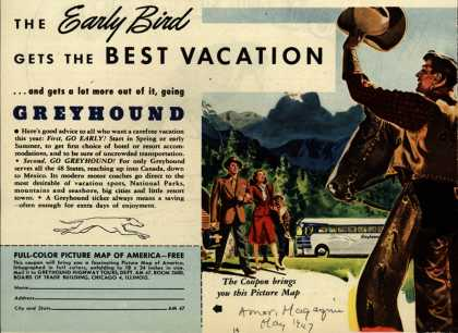 Greyhound – The Early Bird Gets The Best Vacation (1947)
