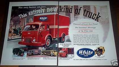 White Motor Co Delivery Service Truck (1951)