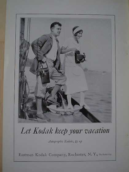 Eastman Kodak Co Vacation AND The National City Co (1926)