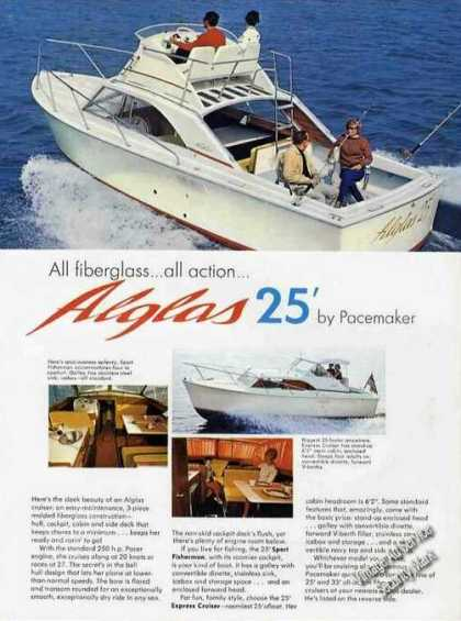Alglas 25' By Pacemaker Boat Photos (1967)