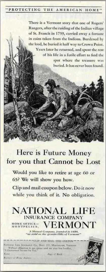 National Life Insurance Co of Vermont (1944)