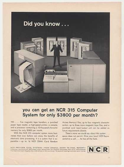 NCR 315 Computer System (1963)