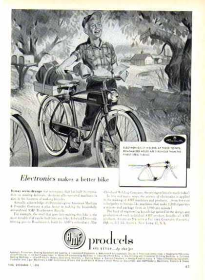 AMF Products – Electronics makes a better bike (1952)